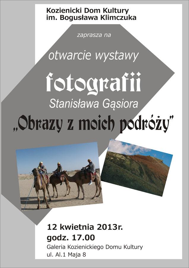 Wystawa fotografii Stanisława Gąsiora